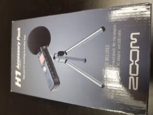 ZOOM H1 Accessory Pack Tripod - REDUCED FOR QUICK SALE TODAY
