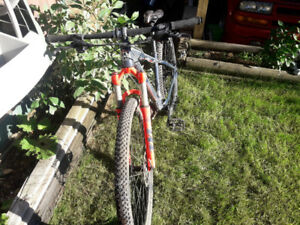Rocky Mountain mountain bike, small frame size