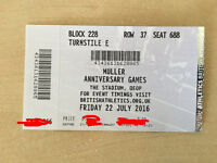 ANNIVERSARY GAMES 1 TICKET OLYMPIC PARK