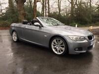 £222.06 PER MONTH 2011 BMW 320 2.0TD d M SPORT CONVERTIBLE