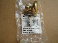 GOLD  COLOR  KNOBS  FOR  CABINETS - 19 brand new