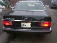 Mercedes-Benz 1989 560-SEC with AMG Package