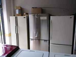 stainless fridges reduced to 1.000 plus we have other appliance