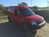 FORD TRANSIT CONNECT T230 L90 1.8 TDCI RED 2008
