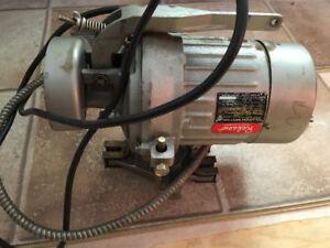 Industrial sewing machine motor