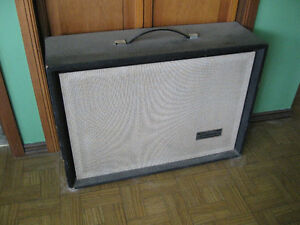 1960s sears guitar speaker cab