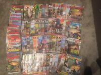 Huge Collection Lot Of 100 x Carp Talk Carp Tackle Coarse Fishing Magazines