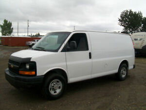 READY TO WORK 2008 CHEVY EXPRESS 2500 CARGO VAN NICE! $5000