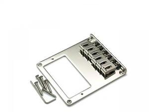 Chrome Tele Telecaster Humbucker Style Bridge