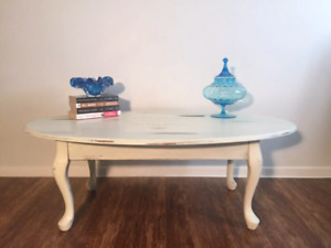 Lovely Distressed Hand-Painted Country Table