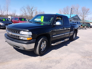 2001 chevy silverado 4x4 140 k certified etested we finance