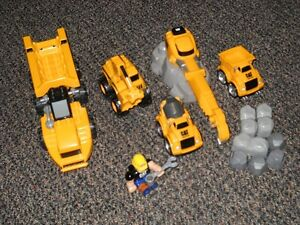 Mega Blocks Construction Trucks