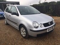 VW POLO 1.2S 5DR 2003 IDEAL FIRST CAR CHEAP INSURANCE FULL SERVICE HOSTORY
