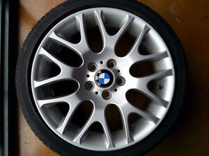 "18"" BMW YOKOHAMA TIRES ALL SEASON WINTER 215/45/18 225/40/18"