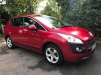 2010 60 Peugeot 3008 Crossover 1.6 HDi Sport 112 bhp EGC DIESEL SUV AUTOMATIC