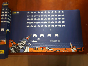 Playmats space invaders