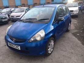 HONDA JAZZ 1.4 PETROL MANUAL 2005