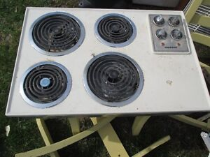 Electric stove top and fan $20 for both