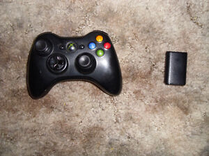 XBOX 360 ultra wireless controller W/ Battery Pack