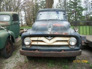 1955  ford western truck very little rust not running