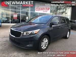 2016 Kia Sedona LX  - Bluetooth -  Heated Seats - $69.51 /Wk