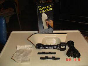 """BRAND NEW """"THE ULTIMATE STEAMER"""" & SINGER HANDY STITCH #CEX300KN Windsor Region Ontario image 6"""