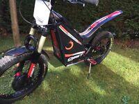 OSET electric child's trials bike