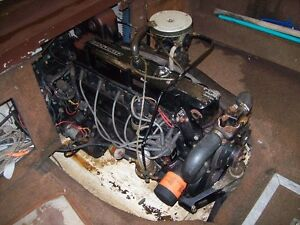 165 MERCRUISER INLINE 6 WITH DRIVE AND GIMBALL
