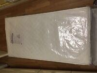 Cotbed mattress & protector