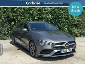 image for 2019 Mercedes-Benz CLA CLA 180 AMG Line 4dr Tip Auto COUPE Petrol Automatic