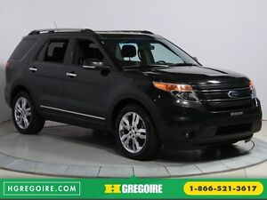 2014 Ford Explorer Limited 4WD CUIR MAGS BLUETOOTH 7PASSAGERS