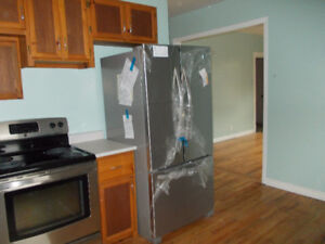 French Door Stainless Fridge  for sale