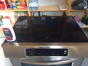 """KitchenAid 30"""" Glass Cooktop Touch-Activated Convection Oven"""