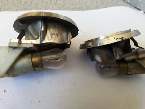 70 FORD REAR SEAT INTERIOR OVERHEAD LIGHTING UNITS