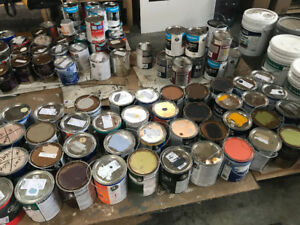 PAINT SALE!!! VARIOUS COLOURS of paint gallon cans $10 each...