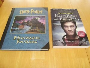 HARRY POTTER HOGWARTS JOURNAL, HARRY POTTER &PHILOSOPHY Windsor Region Ontario image 1