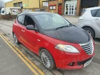 2012 Chrysler Ypsilon 1.2 Black and Red 5dr HATCHBACK Petrol Manual