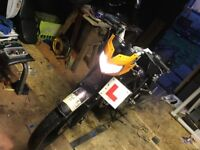 Zontes Panther 125 learner legal motorbike