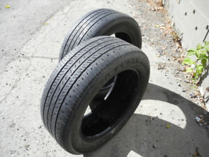 P205/55R16, two tires - Bridgestone Turanza EL400 02. Good!