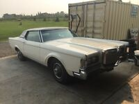 1970 Lincoln Continental mark III $1500 today only