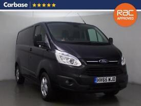 2015 FORD TRANSIT CUSTOM 2.2 TDCi 125ps Low Roof Limited
