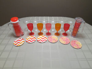 Outdoor Party Set (drinks and plates)