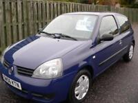 Renault Clio 1.2 ( a/c ) Campus 3 Dr - Low Mileage 1 Owner Full Service History