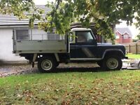 Landrover defender 200tdi galvanised tipper