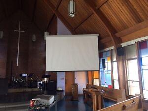 Projector Screen  Windsor Region Ontario image 2