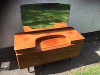 Old retro dressing table CAN DELIVER