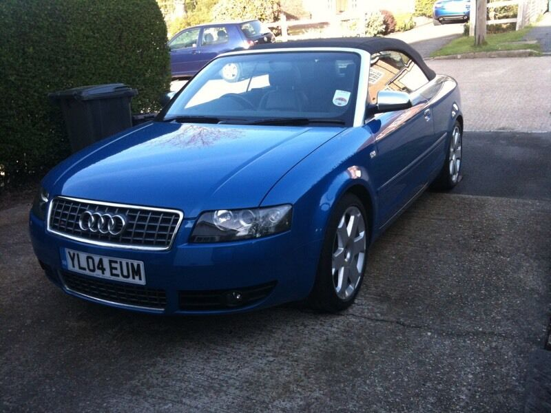audi s4 cabriolet 4 2 v8 b6 quattro in hastings east. Black Bedroom Furniture Sets. Home Design Ideas
