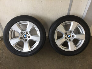 BMW 5 series all 4 tires