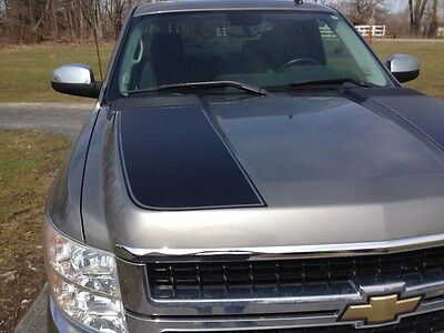 2007-2013 Chevy SILVERADO 2500HD 3500HD Hood Stripes Pair (Fits: Chevy HD Truck)