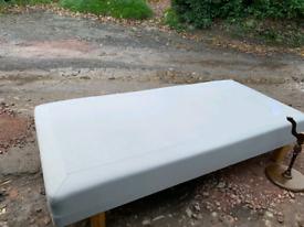 Ikea sultan forestad 3ft divan base mattress and topper